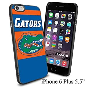 "NCAA FLORIDA GATORS , Cool iPhone 6 Plus (6+ , 5.5"") Smartphone Case Cover Collector iphone Case Black"