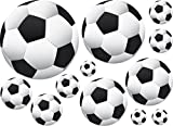 36 Soccer Ball Wall Decor Art Stickers Decals Vinyls
