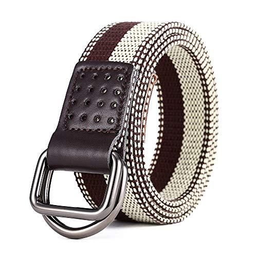 [해외]New Men`s Canvas Braided Belt Men`s Outdoor Casual Long Belt Belt / New Men`s Canvas Braided Belt Men`s Outdoor Casual Long Belt Belt (Color : 3, Size : 100-135CM)