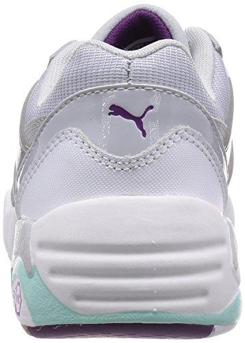 Basic steel Puma Gray Baskets R698 Te glacier Basses Gray Blanc Femme white Sp S4P5wq4