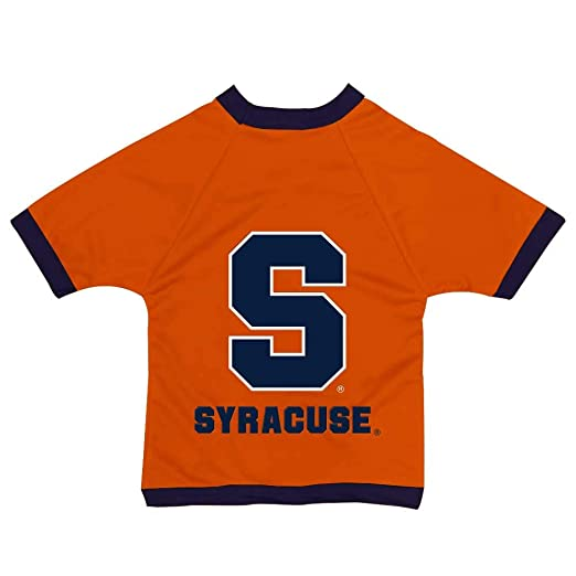 newest c77ee 7371b NCAA Syracuse Orange Athletic Mesh Dog Jersey