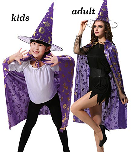 Sylaon Kids Halloween Costumes Witch Wizard Boys&Girls Cosplay
