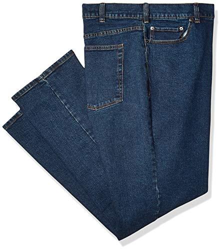 (Amazon Essentials Men's Athletic-Fit Stretch Jean, Medium Wash, 34W x 32L)
