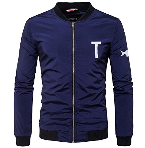 Blu Full Sankt Outwear Giacche Del Basamento zip Uomini Violaceo Collare Sankthing Intemperie qRSxvAwn