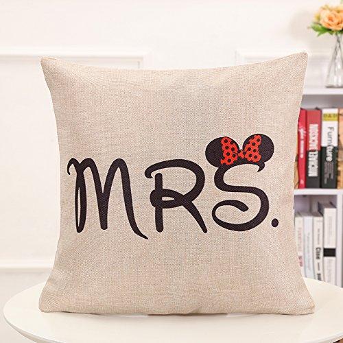 Decorativo cuadrado manta funda de almohada sofá carcasa de ...