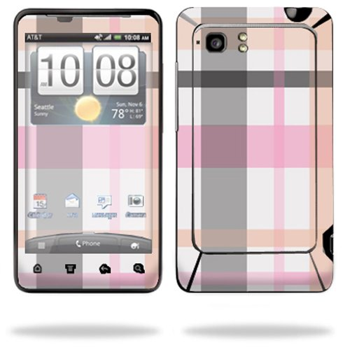 Mightyskins Protective Vinyl Skin Decal Cover for HTC Vivid 4G PH39100 B AT&T Cell Phone wrap sticker skins Plaid (Cover Htc Ph39100)