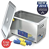 2019 Upgrade Ultrasonic Cleaner 30L 800W Heated Parts Cleaner for Guns Carburetors Injectors Jewelry Dentures Large Capacity Use in Automotive Medical and Firearm Industry DAREFLOW