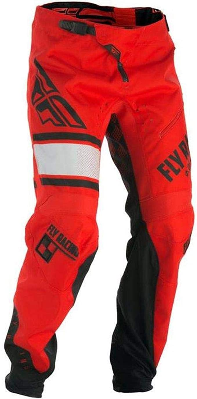 Fly Racing Kinetic Hose Kids Mtb Bmx Rot Schwarz Kinder Dirtbike Dirtjump Mountainbike Pant Bekleidung