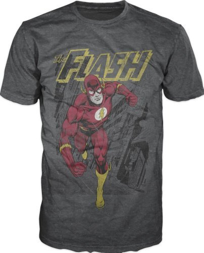 Flash Running T-shirt (XX-Large)Grey]()