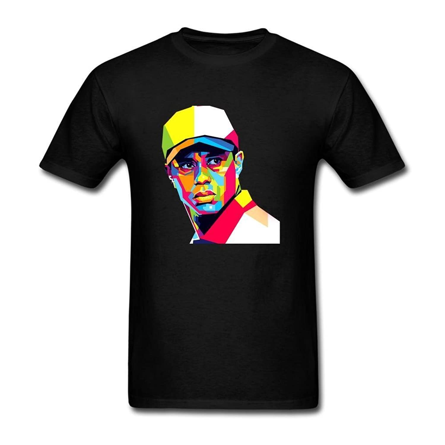 Sunrain Men S Tiger Woods Art T Shirt Ateeshirts Com
