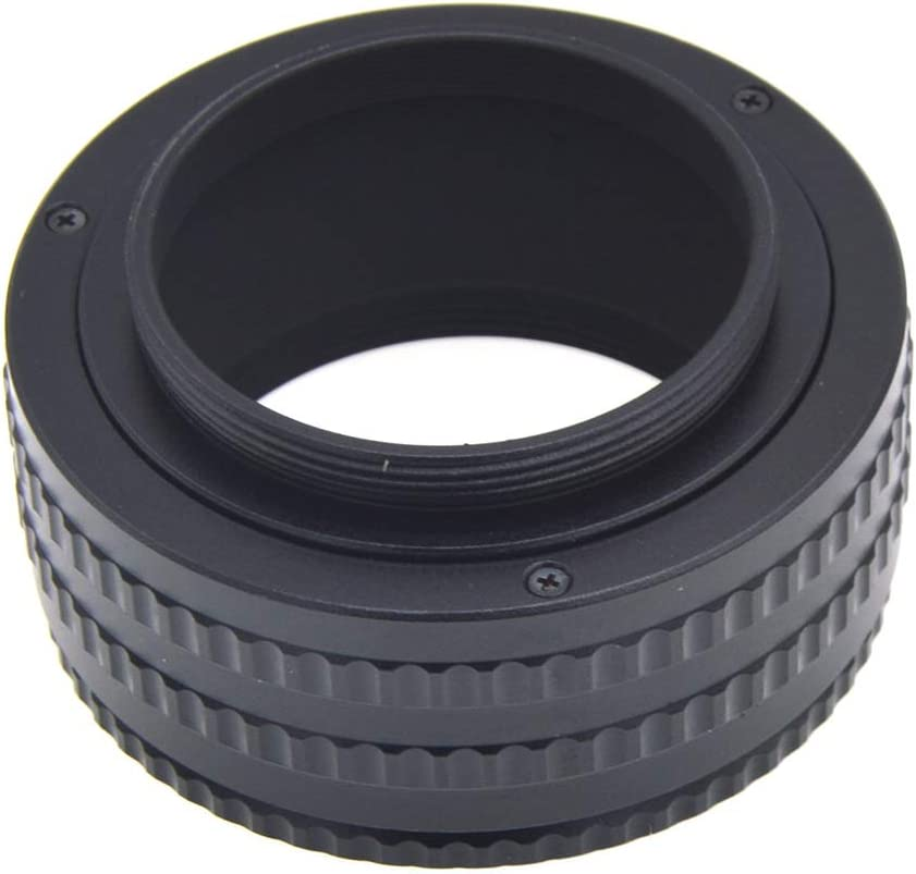 MeterMall Electronics M42 to M42 Mount Lens Adjustable Focusing Helicoid Macro Tube Adapter 25-55mm