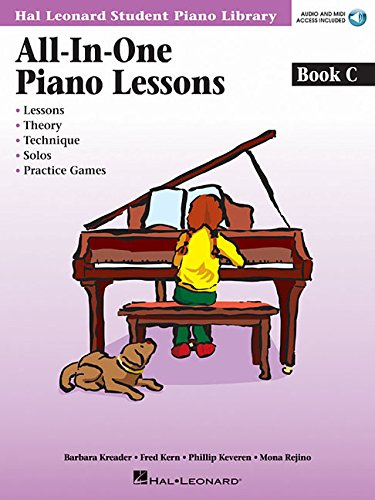 All-in-One Piano Lessons Book C: Book with Audio and MIDI Access Included (Hal Leonard Student Piano Library)