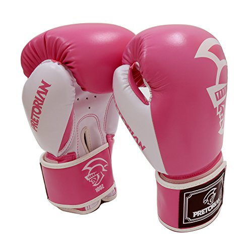 Glove Elite Girls (DarNio Elite Boxing Gloves for girls women trainning (pink, 10OZ))