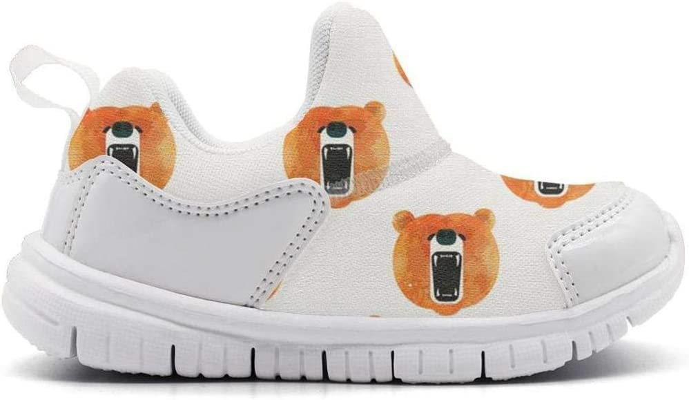 ONEYUAN Children i Love Bear papa Kid Casual Lightweight Sport Shoes Sneakers Walking Athletic Shoes