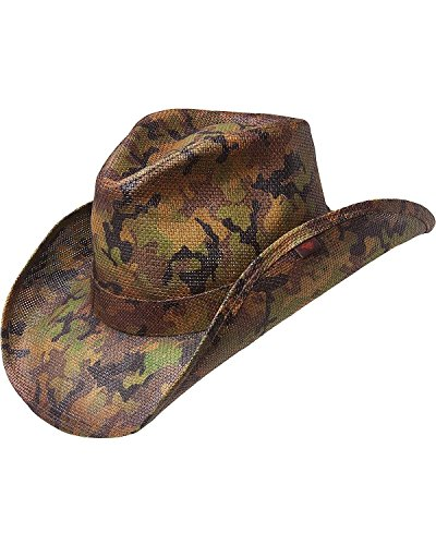peter-grimm-ltd-mens-scout-camo-print-straw-cowboy-hat-green-one-size