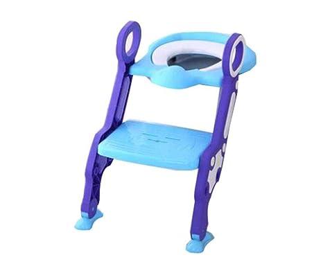 Amazon.com: CTO - Silla infantil para inodoro, con soporte ...