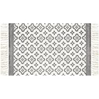 THEE Multi-function Cotton Printed Rug Rag Rug Entryway Laundry Room Kitchen Bathroom Bedroom Dorm