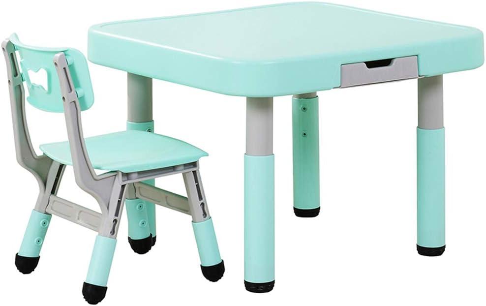 juego de mesa y silla para niños, Mesa y Silla de plástico para el ...