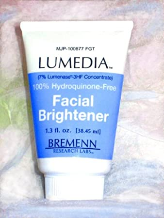 Lumedia facial brightener sample