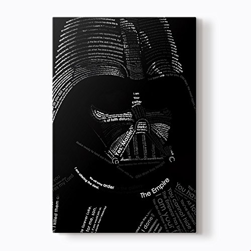 PlusCanvas - Darth Vader - Star Wars - 50 x 75cm (20