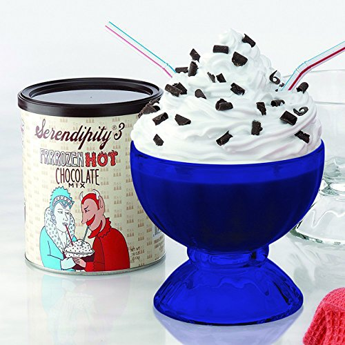 Full Blue Color Serendipity Frozen Hot Chocolate Party Gift Box (as seen on