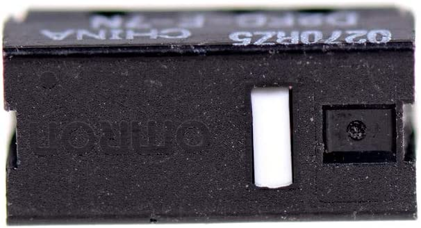 Color: Black 5PCS D2FC-F-7N Micro Switch Replacement Substitute Tested