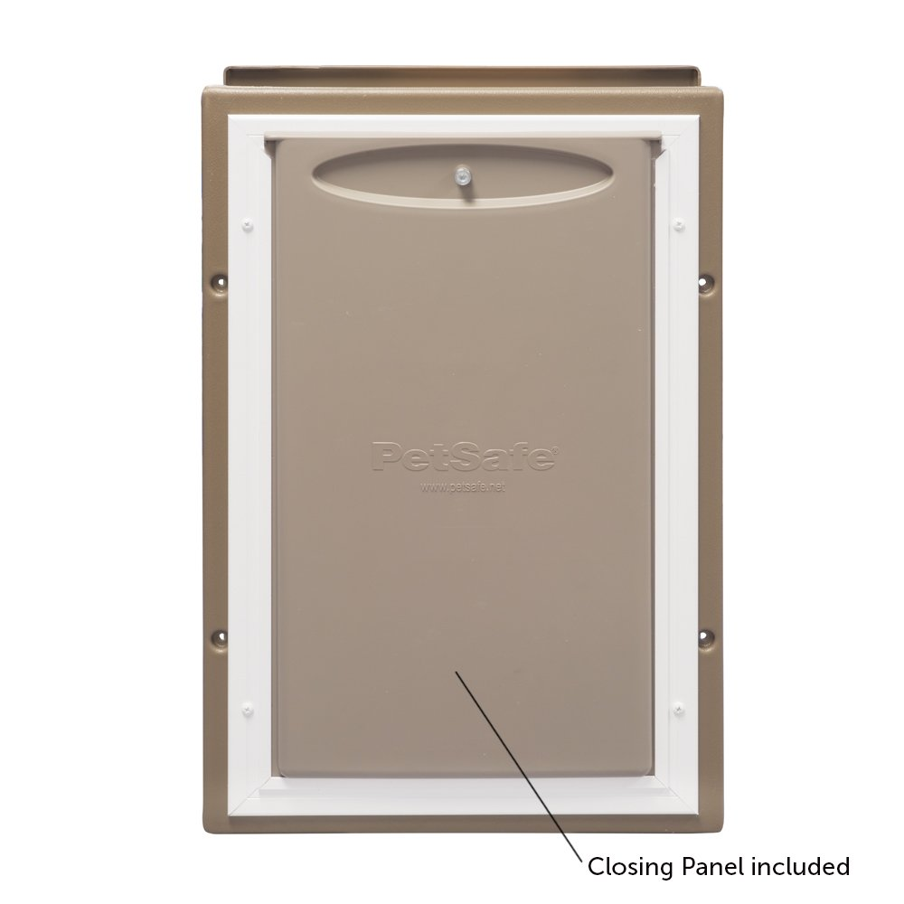 Amazon Petsafe Wall Entry Aluminum Pet Door With Telescoping