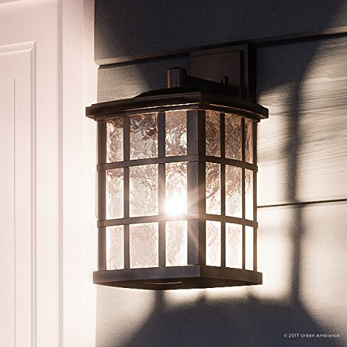 (Luxury Craftsman Outdoor Wall Light, Small Size: 10.5