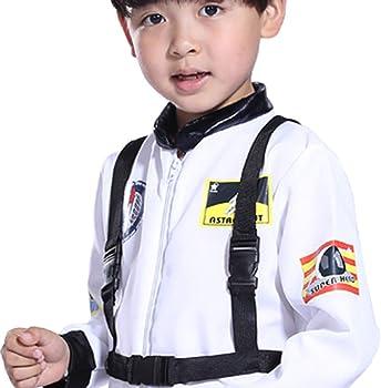 DOGZI Niños Astronauta Traje Mono Juego de rol Astronauta ...