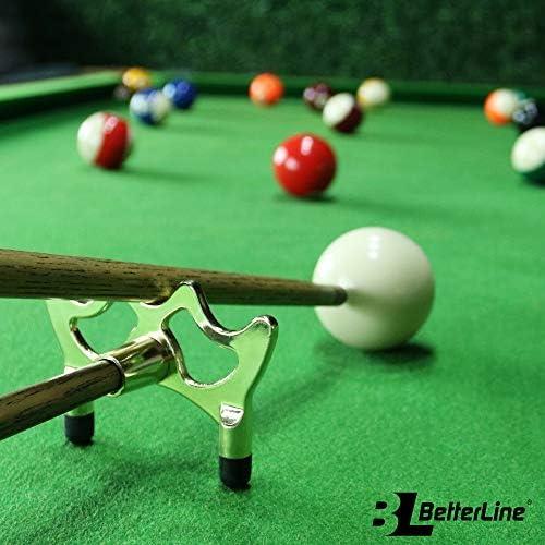 BETTERLINE Billar Cue Puente Spider Cabeza y Cue Cross X Rest, 5 ...