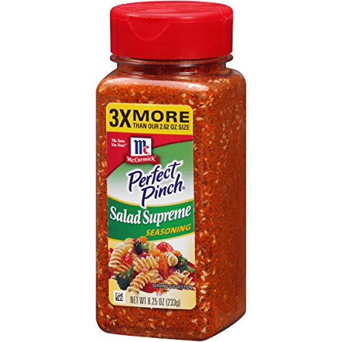 (McCormick Perfect Pinch Salad Supreme Seasoning, 8.25 oz)