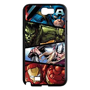 Samsung Galaxy N2 7100 Cell Phone Case Black Marvel comic Jkjf