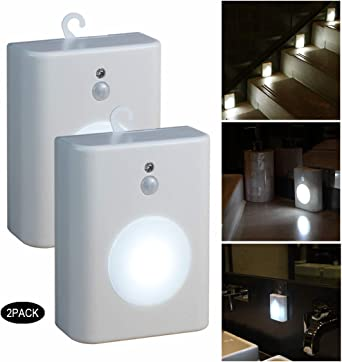 Da... Stick on Anywhere Battery Operated Sycees Motion Sensor LED Night Light