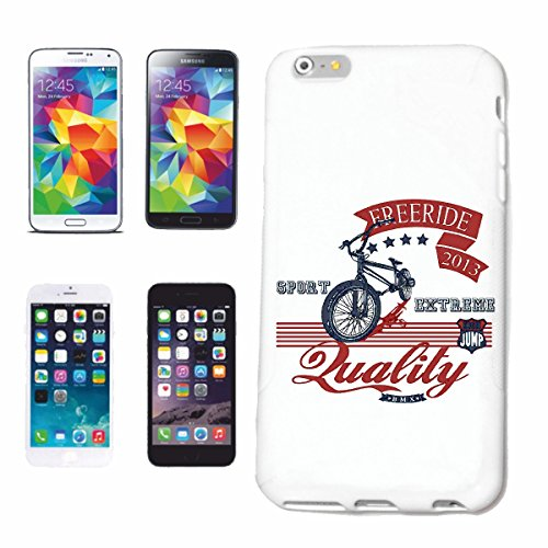 caja del teléfono iPhone 7S PASE GRATIS deporte extremo o bicicross BICICLETA FREESTYLE Chopper MOUNTAINBIKE Caso duro de la cubierta Teléfono Cubiertas cubierta para el Apple iPhone en blanco