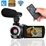 Digital Camera Wifi Camcorder Full HD 1080p 30FPS 24.0MP 16X Digital Zoom Video