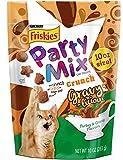 #8: Purina Friskies Party Mix Crunch Gravy-licious Turkey & Gravy Cat Treats, 10 Ounces (Pack of 1)