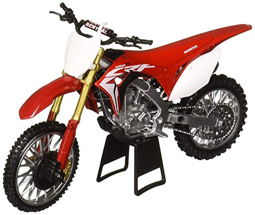NewRay New Ray 1: 12 Motorcycles - Honda CRF450R (Red) Diecast Vehicles