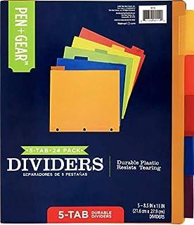 5 Tab Dividers