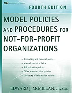 model accounting and financial policies procedures handbook for notforprofit organizations asae financial management series