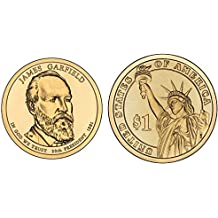 2011 P&D James Garfield Presidential Dollar Set