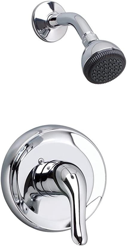 american standard t675 501 099 polished brass colony soft single handle shower valve trim with metal