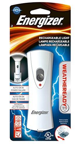 Energizer Weatheready Emergency Blackout LED Plug In Flashlight, Rechargeable