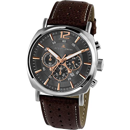 Lemans Watches Jacques Men - Jacques Lemans - Mens Watch - 1-1645H
