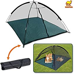 Strong Camel Large Outdoor Indoor Happy Mosquito Habitat for Cats Dog Pet Play House Playpen Feline Funhouse Portable Exercise Tent