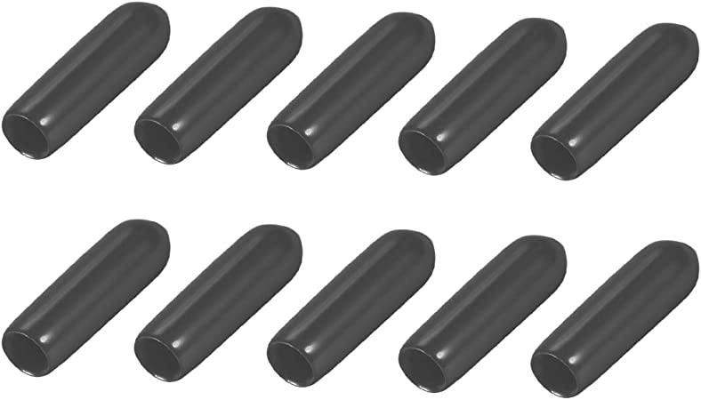 20pcs Black Silicone Antenna Protector Cap for RC Remote Control Vehicles FPV