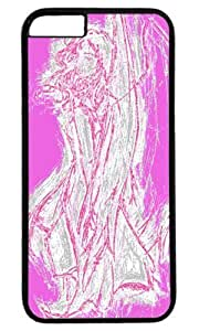 Angel Pink Masterpiece Limited Design PC Black Case for iphone 6 plus by Cases & Mousepads