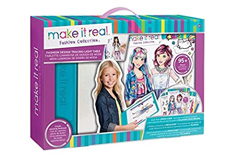 Fashion Design Drawing and Coloring Mega Art Set w/ Light Table - Fashion Design Set