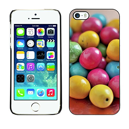 Premio Sottile Slim Cassa Custodia Case Cover Shell // F00016305 bonbons ronds // Apple iPhone 5 5S 5G