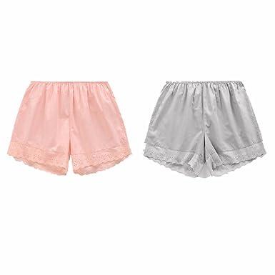 2 Pares de Pantalones de algodón de Seguridad Anti - luz, Mujeres ...