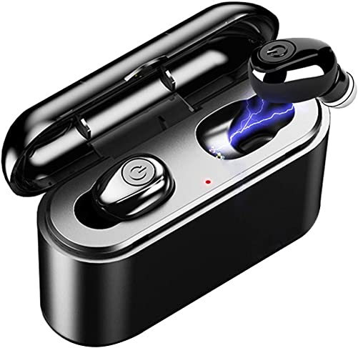 Wireless Earbuds, Bluetooth 5.0 Earbuds with 3000mAh Charging Case 105H Playtime in-Ear Bluetooth Headset IPX7 Waterproof True Wireless Earbuds for Work Sports